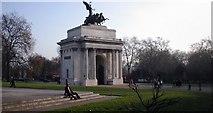 TQ2879 : Wellington Arch Hyde Park Corner by Gordon Dowie