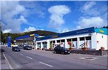 B9130 : Garage and shop, Gortahork by Rossographer