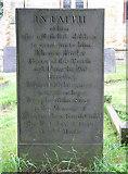 SK7234 : Langar, St Andrew: Butler gravestone by John Sutton