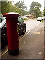 SZ0691 : Branksome: postbox № BH12 237, Princess Road by Chris Downer