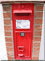 TM3464 : Suffolk Kinsman Victorian Postbox by Adrian Cable