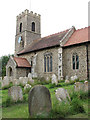TM1698 : All Saints Church by Evelyn Simak