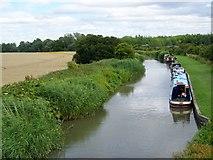 SU0762 : Kennet and Avon Canal near All Cannings by Maigheach-gheal