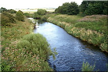 NT1474 : River Almond at Boathouse Bridge, near Kirkliston by Mike Pennington