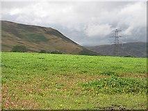 NN9328 : Arable land, Easter  Buchanty by Richard Webb