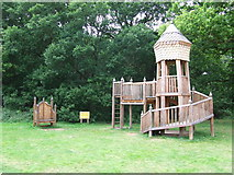 TG2202 : Wooden Climbing Frame by Keith Evans