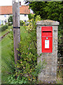 TM3560 : Stratford Corner Postbox by Geographer