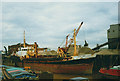 TA1028 : The Sand Swift unloading in Hull by Stephen Craven