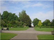 TQ2882 : Crossroads in Regent's Park by Peter S