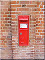 TM3957 : Snape Bridge Victorian Postbox by Adrian Cable