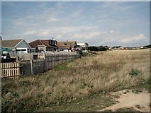 TQ4200 : Houses bordering Peacehaven Heights by Paul Gillett