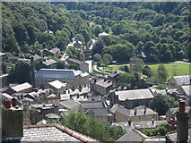 SD9927 : Hebden Bridge - view from above Lime Avenue by Dave Bevis