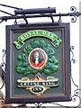 SU1869 : Sign for the Royal Oak by Maigheach-gheal