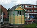 TF9913 : Dereham North Signal Box by Ashley Dace