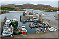 NF8855 : Ceallan Harbour by John Allan
