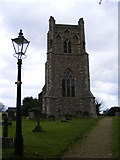 TM4160 : St Mary Magdalene Church Tower by Geographer