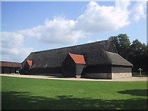 SU1070 : The old tithe barn, Avebury by Sarah Charlesworth
