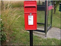 TM4160 : Mill Road Postbox by Geographer