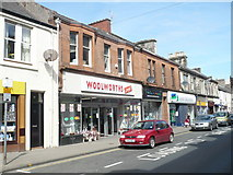 NX1897 : Ex-Woolworth store in Dalrymple Street, Girvan by pam fray
