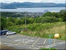 NS2674 : Greenock and the Clyde from Overton by Thomas Nugent