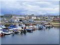 NJ1469 : The Harbour Basin at Hopeman by Ann Harrison