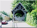 NZ1665 : Lych Gate at Church of St. Michael and All  Angels, Newburn by Eric Rosie
