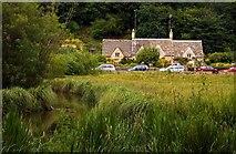 SP1106 : Looking across Rack Isle in Bibury by Steve Daniels