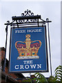 TM4469 : The Crown Inn Public House Sign, Westleton by Adrian Cable