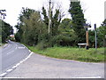 TM4365 : B1122 Leiston Road junction with Pretty Road by Adrian Cable