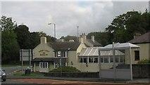 SH5571 : Tafarn y Bont/Bridge Inn, Porthaethwy by Eric Jones