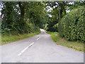 TM3266 : Church Road, Bruisyard by Geographer