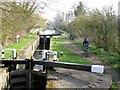 SP9014 : Aylesbury Arm: Gudgeon Stream Lock (No 9) by Chris Reynolds
