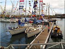 J3474 : Merrilyn and Rona II, Abercorn Basin, Tall Ships 2009 by Dean Molyneaux