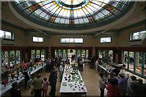 SE2955 : Interior, Sun Pavilion, Valley Gardens by Mark Anderson