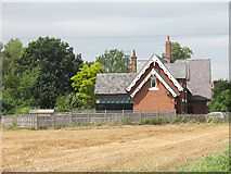 TL4311 : Traditional building style, Eastwick Road by Stephen Craven