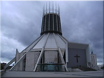 SJ3590 : Christ the King Catholic Metropolitan Cathedral by john driscoll