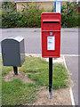 TM3763 : Heron Road Postbox by Geographer
