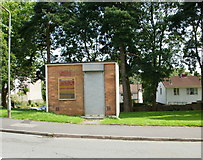 ST3091 : Police Box , Russell Drive, Malpas, Newport by Jaggery