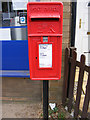 TM4361 : Coldfair Green Postbox by Adrian Cable