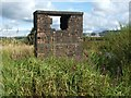 NS3976 : Structure beside the River Leven by Lairich Rig