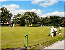 SJ8889 : Edgeley Bowling Club by Gerald England