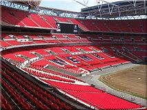 TQ1985 : Wembley Stadium by Rib