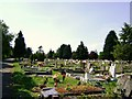TQ1373 : Hounslow Borough Cemetery by Anonymous
