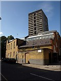 TQ2978 : Former drill hall, Pimlico by Derek Harper