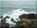 SW4841 : Polgassick Rock by David Medcalf