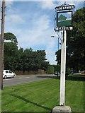 TQ5055 : Bessels Green Village Sign by David Anstiss