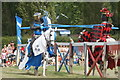 TQ4844 : Jousting at Hever Castle, Kent (5) by Peter Trimming