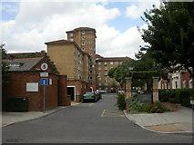 TQ2976 : South Lambeth, Lansdowne Green by Mike Faherty