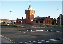 J3731 : The former Newcastle Railway Station, now home to Lidl by Eric Jones