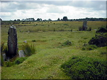 SN1329 : Standing stones and circle at Gors Fawr by Bob Helms